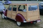 2CV with Wood constructions