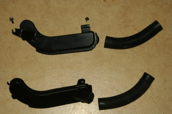 2CV Bremsen brake air deflector