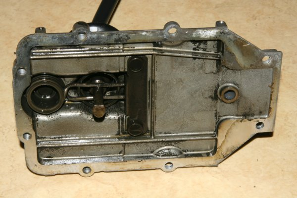 2CV gearbox cover
