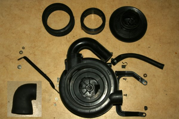 2CV air cleaner box