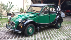 Restauration 2CV Charleston