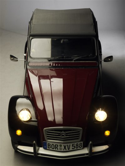 2CV Charleston im Studio